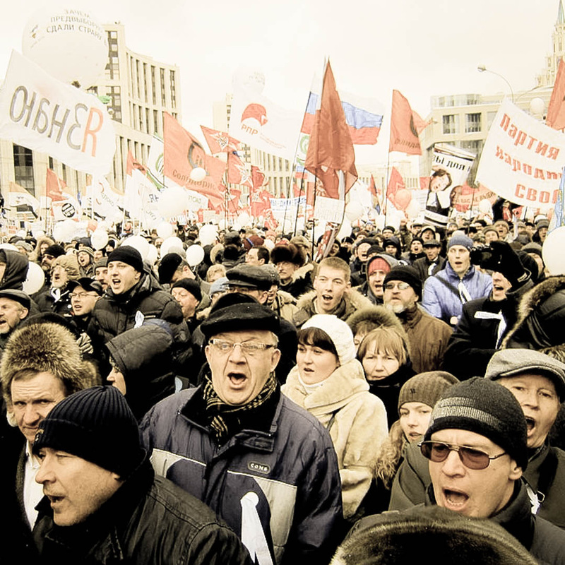 Moscow rally