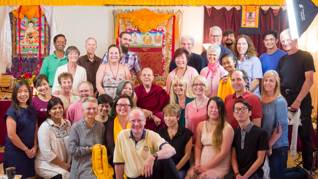 Ven. Robina Courtin at Ocean of Compassion: Karma and Emptiness